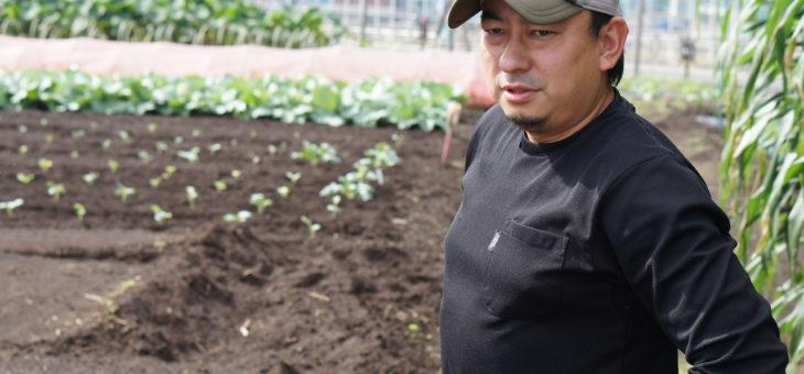 大好きなスポーツ業界から家業の野菜農家を継いだ「元気もりもり」森屋賢さん(後篇)