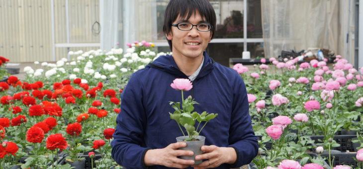 花も地産地消が一番!~子どもたちやファミリー世代にも花を普及させていきたい~ 三鷹市大沢の花農家「海老澤一晃」さん