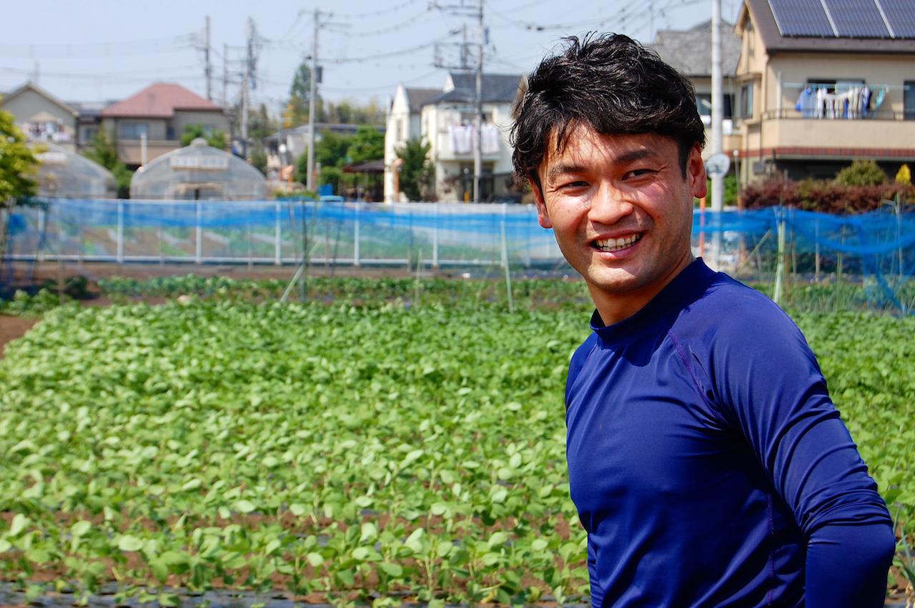三鷹市北野の野菜&蜂蜜生産農家 伊藤紀幸さん