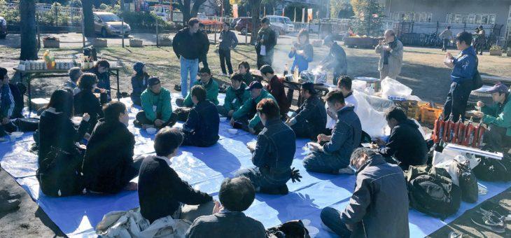 【都市農業✕防災】「三鷹の農家がつくる炊き出し『のっぺい汁』を食べる会」を若手農家さん、防災団体と開催。