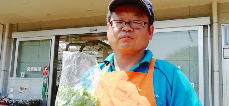 会員制ファンクラブ特典の駅前農作物受け渡しイベント(4月)を実施!! 次回は5月27日に開催します