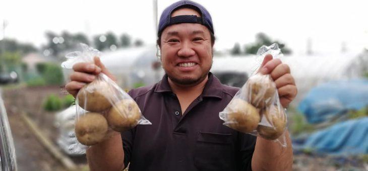 会員制ファンクラブ特典の駅前農作物受け渡しイベント(6月)を実施!! 次回は7月22日に開催します