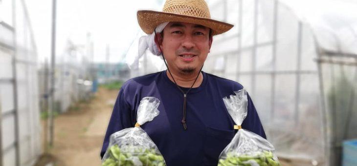 会員制ファンクラブ特典の駅前農作物受け渡しイベント(7月)を実施!! 次回は8月9日に開催します