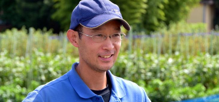 エコを意識し、自然な生産方法で農作物を生産したい -武蔵野市八幡町の田中茂さん