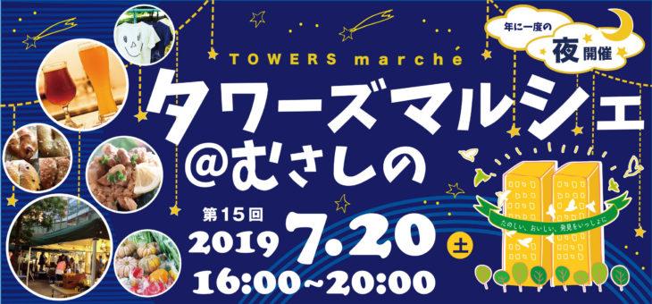 武蔵野市産農作物づくし!! 三鷹駅前農作物受け渡しは7月20日 タワーズマルシェ@むさしので個別販売します。